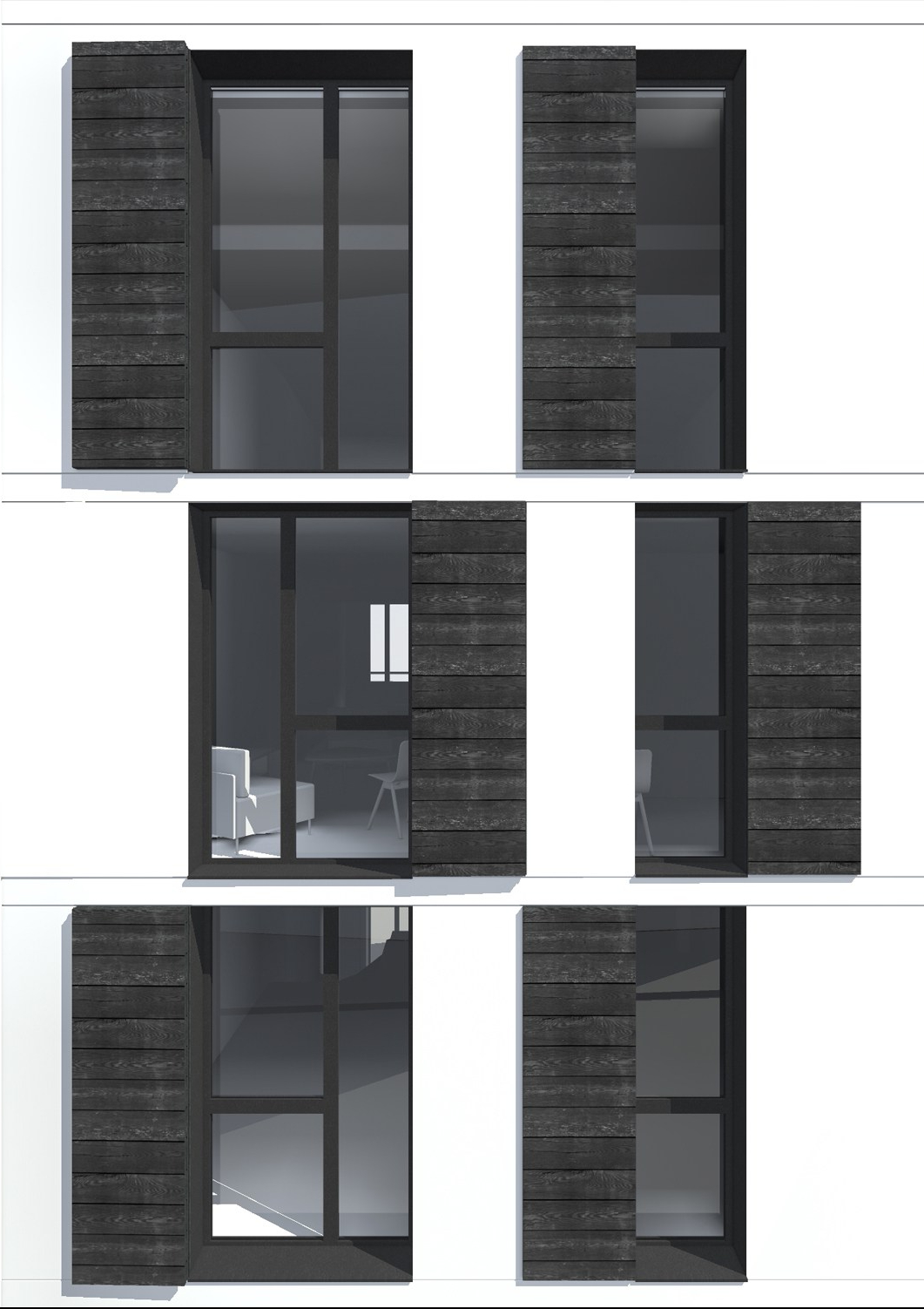 m nilmontant kevin velghe architecte. Black Bedroom Furniture Sets. Home Design Ideas